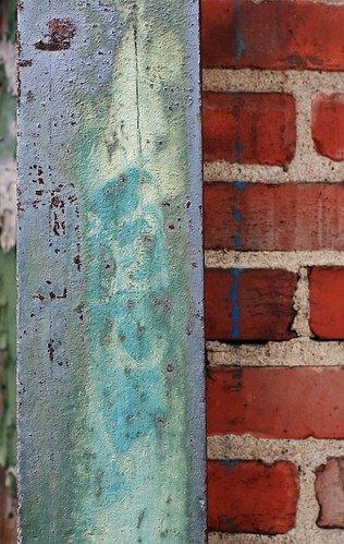 Old Painted Beam