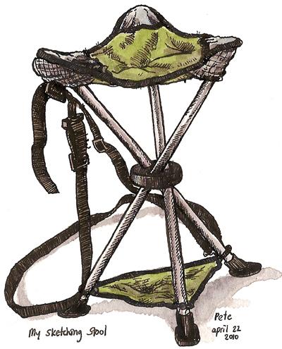 sketching stool