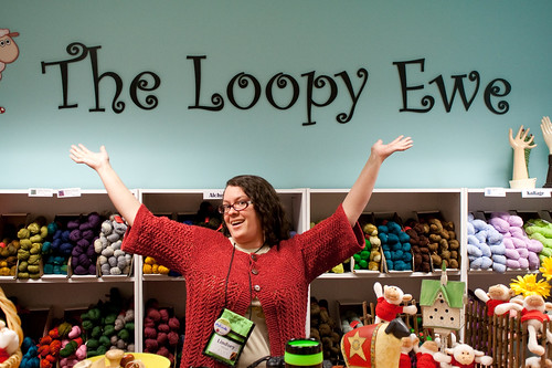Me at The Loopy Ewe