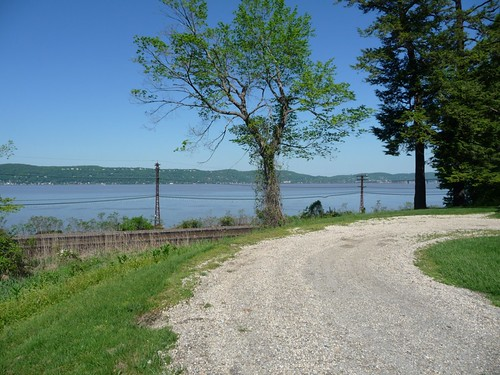 Path to Sunnyside, Hudson River and RR Tracks 1