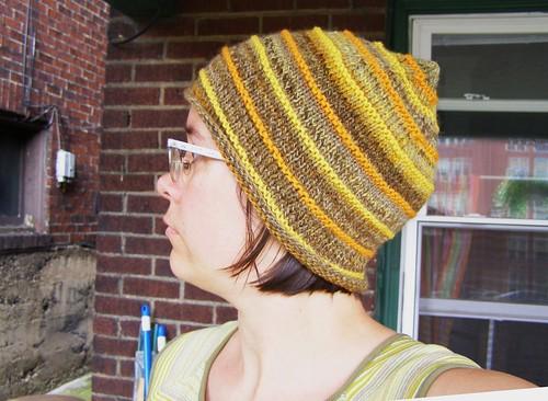 handspun harvest hat