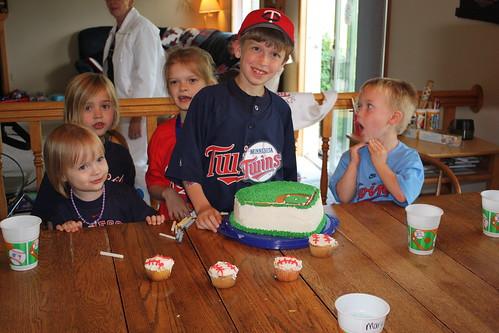 Andrew's Birthday - Cousins