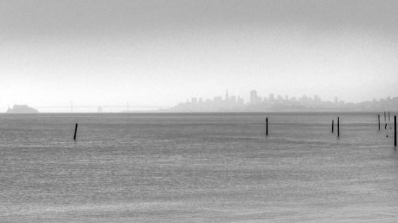 San Francisco Study - from Sausalito - Scott Loftesness