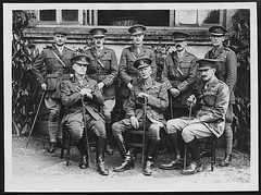 Staff of General Sir Athus Sloggett who until quite recently occupied the post of D.G.M.S. with B.E.F. France
