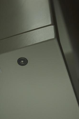 Old Ikea Nightside Table, Detail