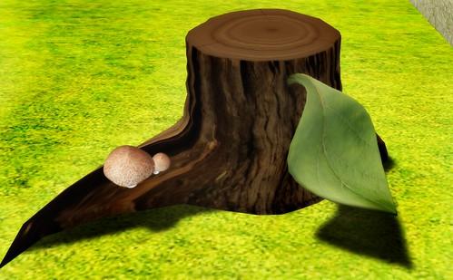 :::LITHIUM:::Stump chair [FREE]