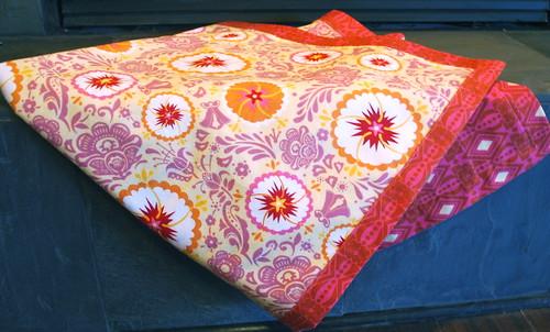 Folksy Flannel Blanket