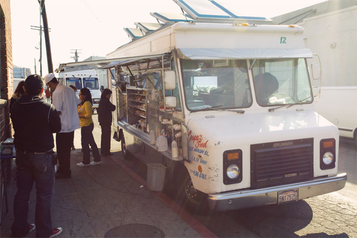 Breakfast trucks