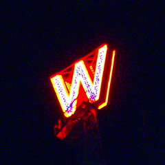 THE W ON WOODWARD'S RELIT