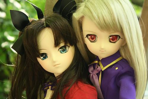 Rin & Illya