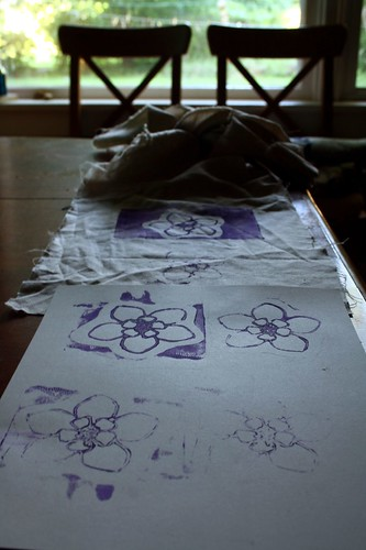 Lino on Paper