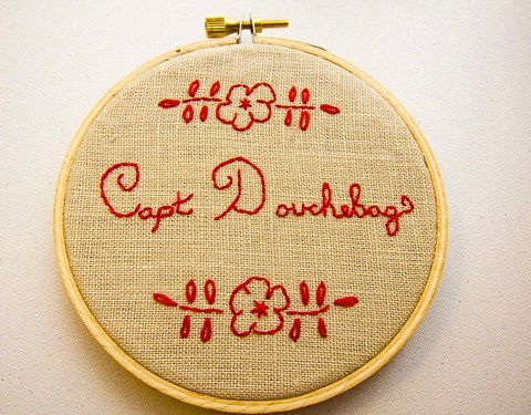 gaming embroidery #1
