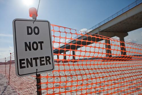 Do Not Enter - Perdido Beach, Alabama