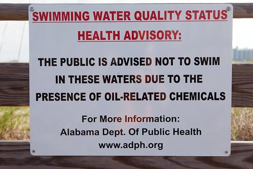 Swimming Water Quality Status Health Advisory