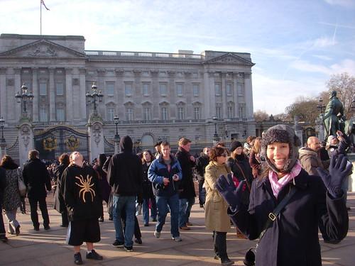 Outside of Buckingham Palace