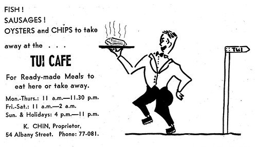 Advertisement from Otago UNviersity Capping Book 1961 p14