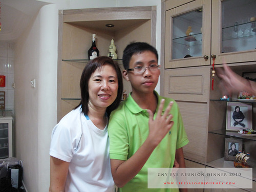 CNY Reunion Dinner 2010 #16