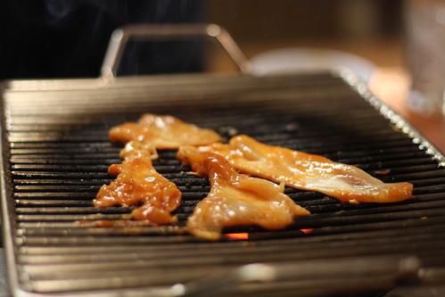 meat! fire!