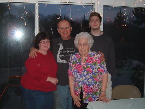 My Family on my 19th Birthday