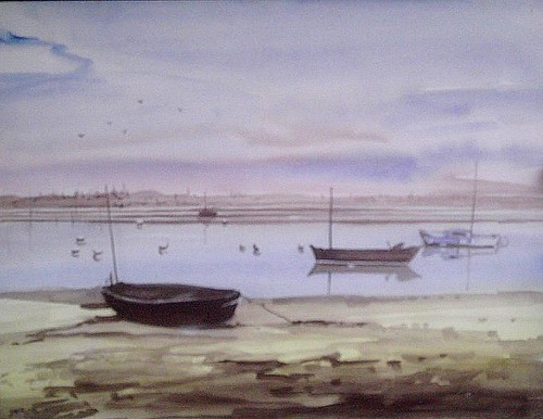 aquarelle port
