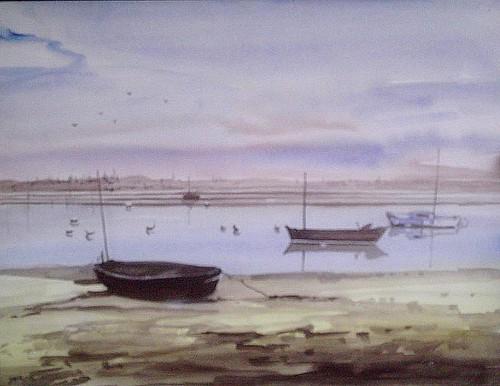 aquarelle port