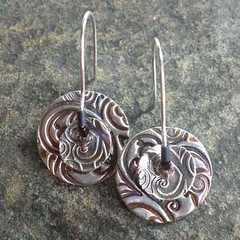 Spinner Disk Earrings #2