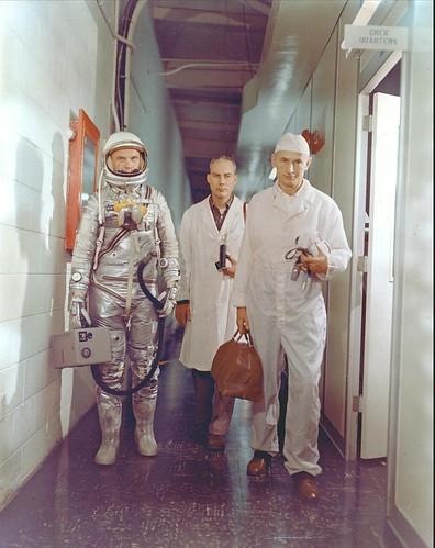 John Glenn, Mercury -- February 1962
