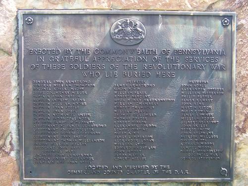 Revolutionary War veterans at Old Carlisle Cemetery (3/6)