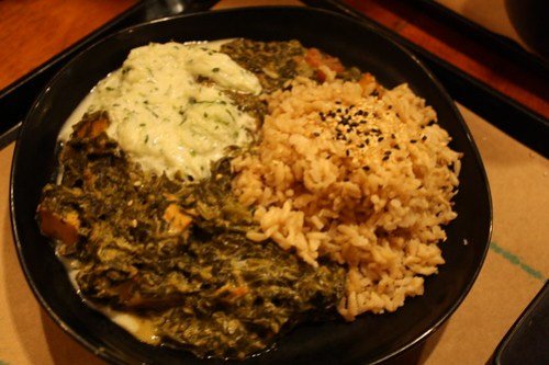 Teaism - Indian Spinach Curry