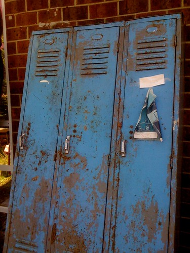 the estate of things chooses vintage school lockers