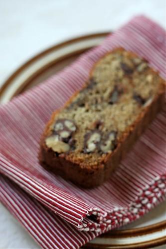 Chocolate-Covered Walnut Banana Bread (blurry)