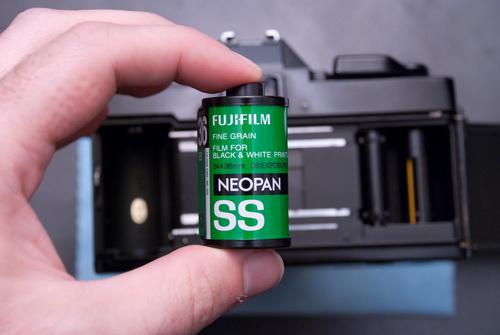 Fujifilm Neopan SS ASA100.