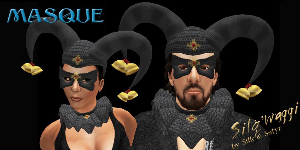 Masque Noir by Silq'waggi