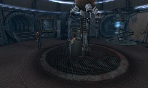 At the Tesla Room on the Nemo submarine city