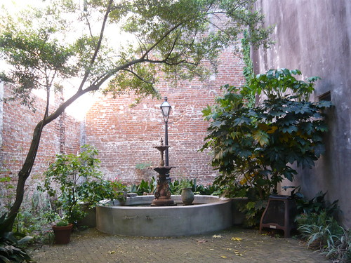 courtyard of pharmacy museum