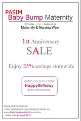 Baby Bump Maternity's 1st Anniversary Celebration