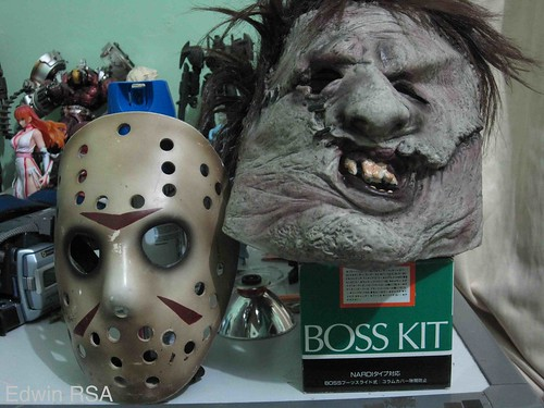 Jason and Leatherface