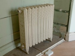 Ornate Cast Iron Radiator