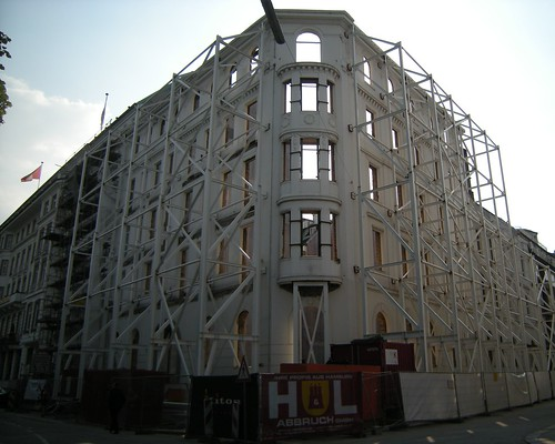 Entkerntes Haus