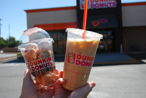 Dunkin Donuts every day.