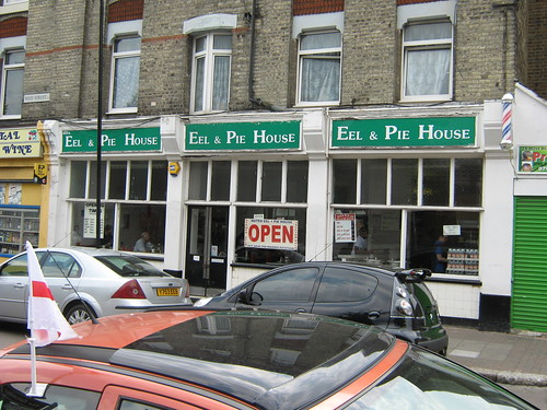 The Noted Eel and Pie House, Leytonstone