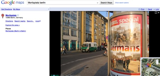 Google Streeview Germany Screenshot