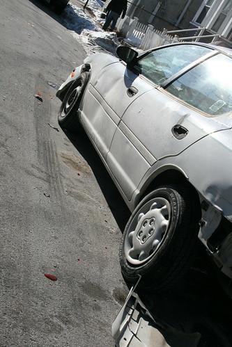Car Smash 10 Jan 2010