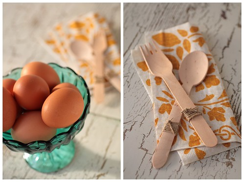 Eggs and Utensils