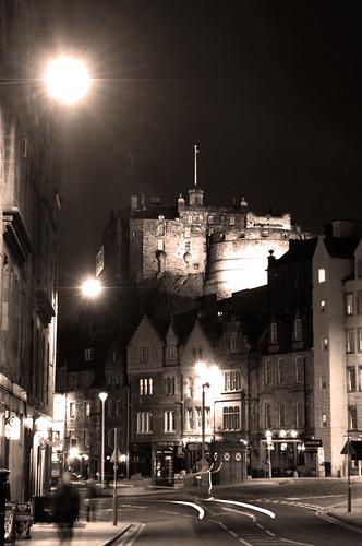 Castle and the Grassmarket