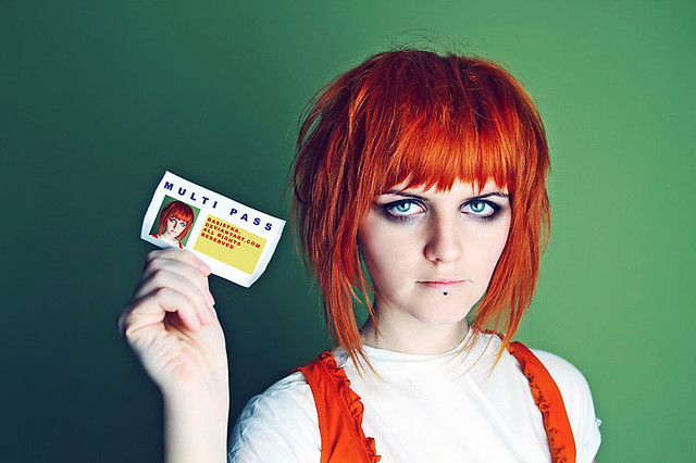 Multipass. inspiration: Leeloo - 5th element