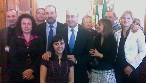 Fotos entrega Bandera Andalucía Abla ESdI