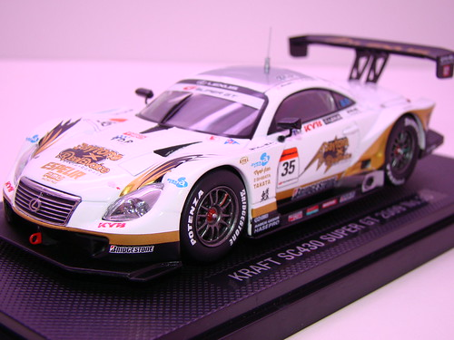 EBBRO KRAFT SC430 SUPER GT 2009 NO (2)