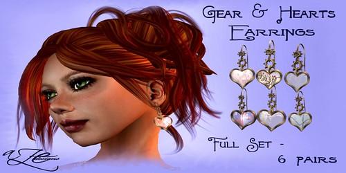 AZE-Gear-&-Hearts-Earring-ALL-poster