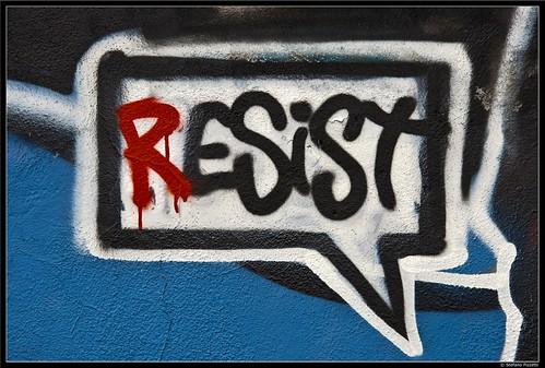 Resist by Stefano Pizzetti
